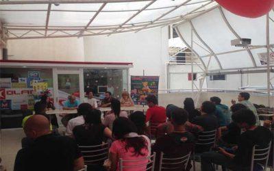 TODO LISTO PARA LA CONVENCIÓN EXACON 2017 EN EL CENTRO COMERCIAL PLAZA VALERA