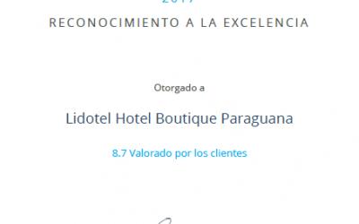 DETECTAHOTEL RECONOCE A LIDOTEL HOTEL BOUTIQUE PARAGUANA ENTRE LOS MEJORES ALOJAMIENTOS EN VENEZUELA