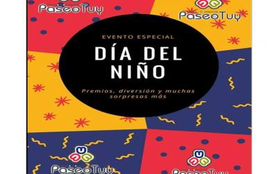 CENTRO COMERCIAL PASEO EL TUY CELEBRARÁ DÍA DEL NIÑO