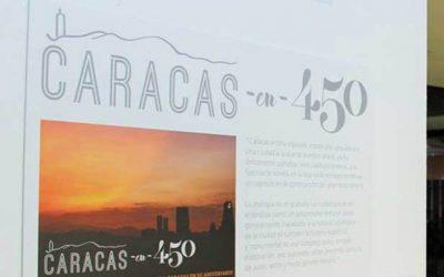 """CARACAS: SIGUE EXPOSICIÓN """"CARACAS EN 450"""" EN PASEO EL HATILLO LA LAGUNITA"""