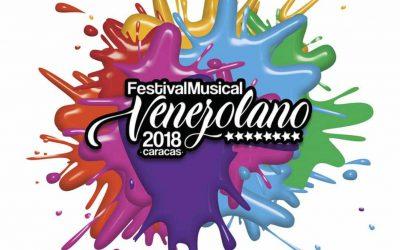 CARACAS: EL FESTIVAL MUSICAL VENEZOLANO 2018 LLEGARÁ AL CCCT