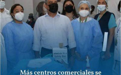 PANAMÁ: MÁS CENTROS COMERCIALES SE UNEN A LA CAMPAÑA DE VACUNACIÓN
