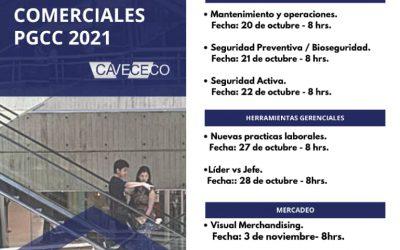 XIX PROGRAMA GERENCIAL DE CENTROS COMERCIAL 2021 PGCC